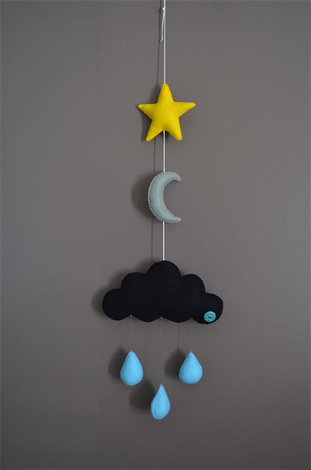 "Cloud mobile ""Goodnight"""