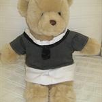 Teddy Bear Clothes, Handmade Georgia Dress