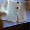 12MTH OLD JACKET IN GARTER STITCH