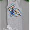 Mr and Mrs Rabbit, applique singlet
