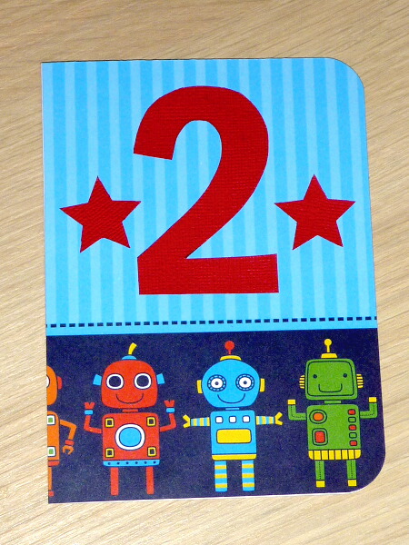Happy Birthday Card For Boys Or Girls 2nd