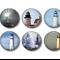 Fridge magnet set - Lighthouse 1