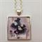 Necklace Pendant Carnevale Venice Art work Painting
