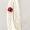 Snow Cowl with Poppy