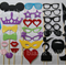 Photo Booth Props - 41 piece set - Weddings, Birthdays, Anything!!