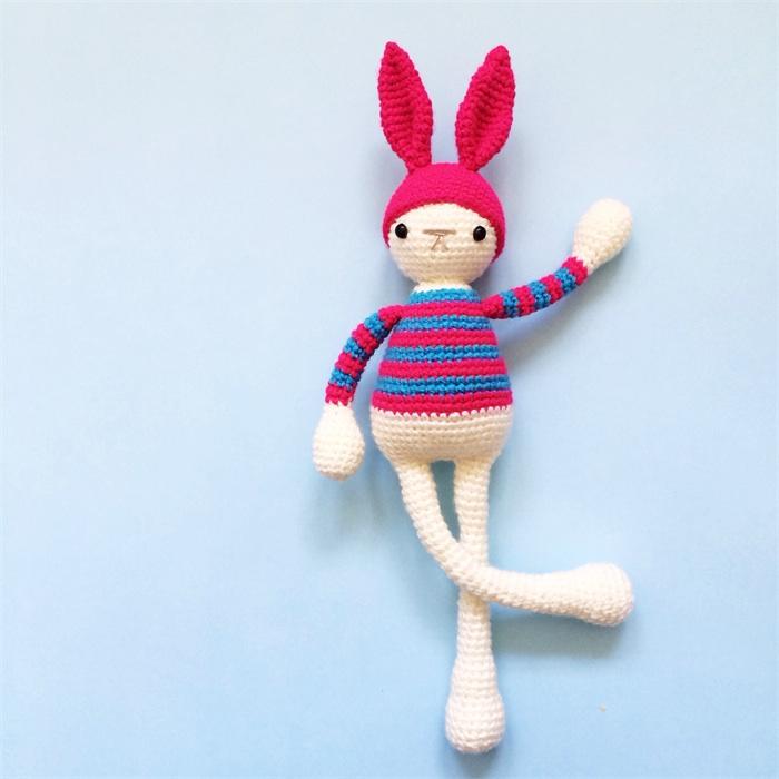 Betty the Bunny - Crochet Beanie Softie - Amigurumi Made ...