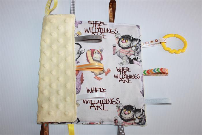 Taggie blanket the gruffalo zoandjo for Gruffalo fabric