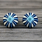 Buy 2 pairs and get a third set free (Fabric button studs only). Starburst