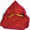 Red hooded cowl