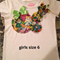 Girls one of a kind Embellished t-shirt size 6