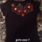 One of a kind girls embellished t shirt size 7