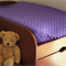 Purple Minky Dot Change Table Covers for boys and girls Ohhh sooo soft
