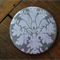 1 x Magnet - Grey Damask