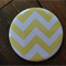 1 x Magnet - Large Yellow Chevron