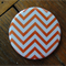 1 x Magnet - Orange Chevron