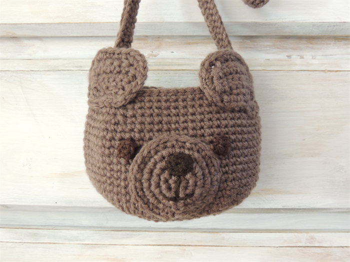 Crochet Teddy Bear Pattern - Set of 3 PDF - Bear Rug - Kids Bag ... | 525x700