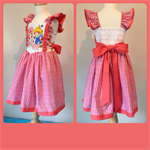 Strawberry Shortcake princess dress size 3 girls pink ruffles