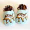 size 9-12 months baby shoes WILD THING