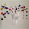 Felt Ball Garland Jellybean
