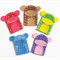 Made-to-order wool felt finger puppets set of 5 cheeky monkeys