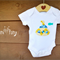 Tshirt or Bodysuit // Yellow Submarine // Sizes Newborn-4 years// Hand Applique