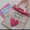 Girl's Library Book Bag