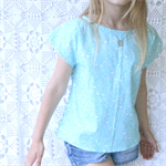 Size 6 - Girls Bird Print Holiday Top