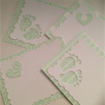 Mini gift card & envelope - Set of 3