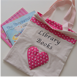 Girl's Library Book Bag