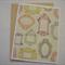 Vintage Frames - Blank Greeting Card & Envelope