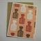 Date Stamp - Blank Greeting Card & Envelope