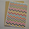 Chevron - A2 Blank Greeting Card & Envelope