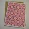 Pink Flowers - Blank Greeting Card & Envelope