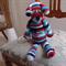 Dani Bear : crochet, safe, OOAK, washable, easter, baby shower, by CuddleCorner