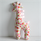 Giraffe Tag Toy Pink Blossoms