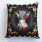 Black and White Spot Bunny Cushion Cover