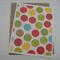 Christmas Dots - Blank Greeting Card & Envelope