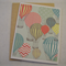Balloons - A2 Blank Greeting Card & Envelope