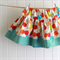 twirly skirt | bright hexi print | size 3