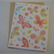 Glitterfly - Blank Greeting Card & Envelope
