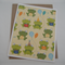 Frog Party - Blank Greeting Card & Envelope