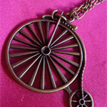 Pennyfarthing Bronze Necklace...