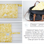 Lemon Surprise Nappy Clutch