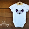 Aussie Koala Tshirt or Bodysuit // Chevron Purple //  Sizes Newborn to 4yrs