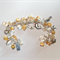 Soft Yellow Charm Bracelet