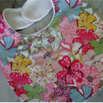 Beautiful Liberty of London Fabric Bibs