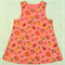 Miss Pink Sunflower Pinafore Dress - size 2