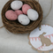 6 Kraft Bunny Rabbit Gift Tags ~ Birthday ~ Baby Shower ~ Easter Gift Tags