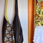 SOLD - African Inspired Large Hobo Bag - SOLD