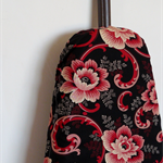 Ironing Board Cover - Red and black roses - Asian feel